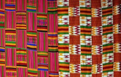 Pagne-kente-coton-et-rayonne-tissés-Ashanti-Ghana7
