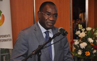 Dr Adama COULIBALY,Directeur Général du Conseil Coton Anacarde et commissaire Général du sietta 2016