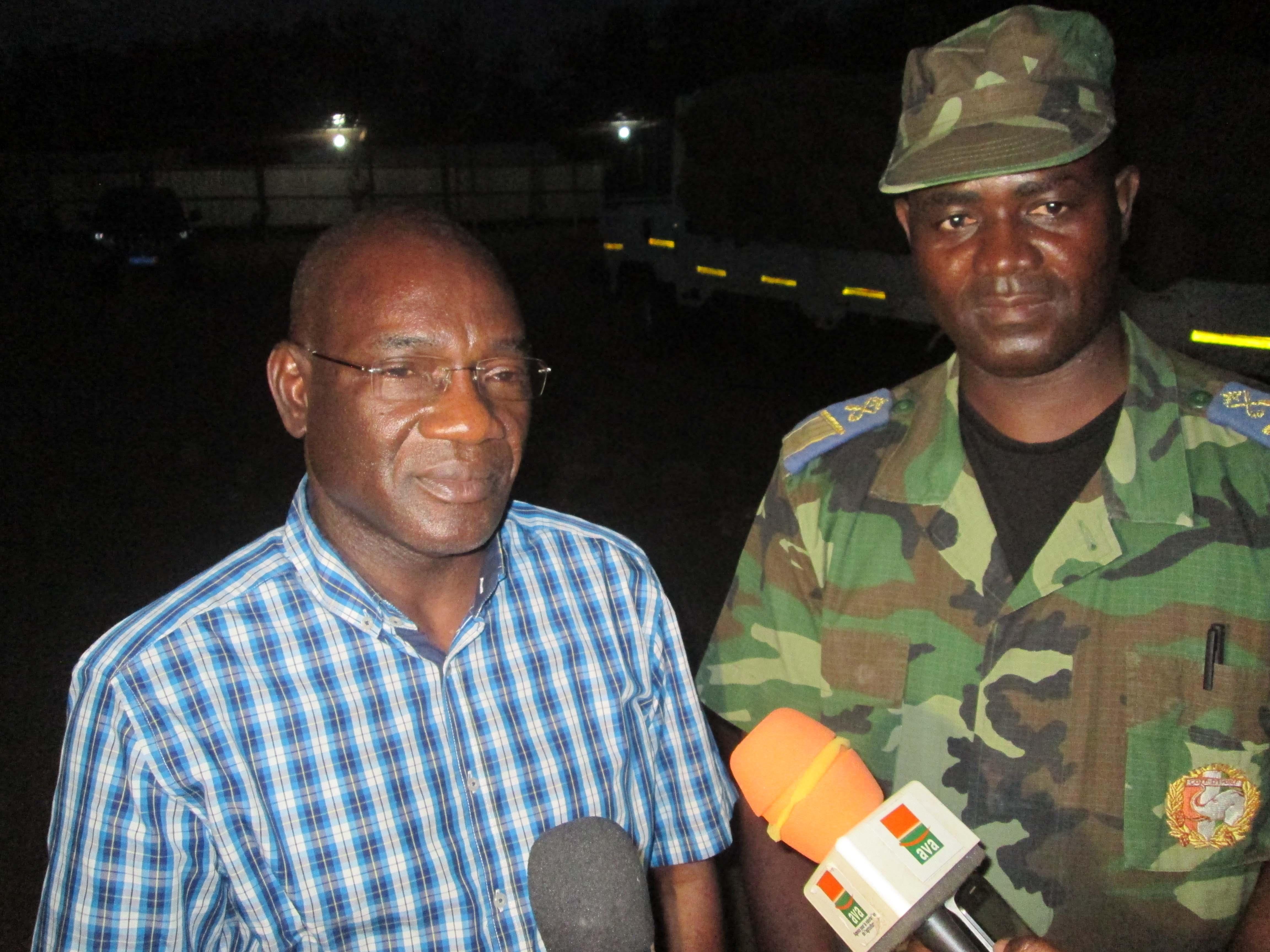 Visite du Directeur Général du Conseil Coton-Anacarde aux forces de l'ordre de Bondoukou