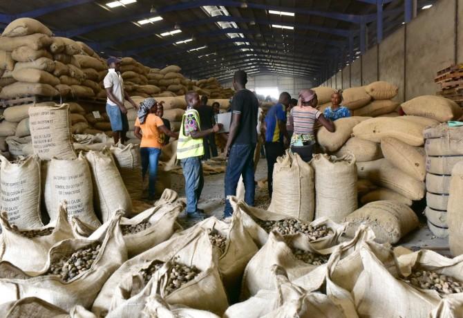 Des-noix-cajou-sont-conditionnees-pour-vente-dans-usine-Abidjan-Cote-Ivoire-12-2016_2_1400_933